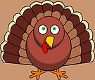 Cartoon Turkey by FrankieCat