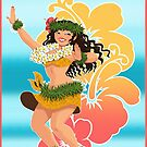 Tahitian dance by Anna R. Carrino