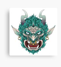 demonio Canvas Print
