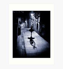 Ballet Dancer 11 Art Print
