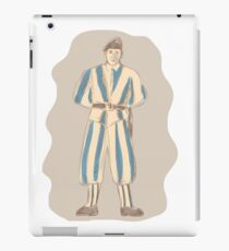 Swiss Guard Standing Sketch iPad Case/Skin