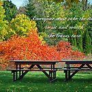 Season's Silent Splendor by Maria Dryfhout