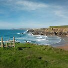 Porthcothan  Cornwall by eddiej