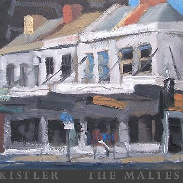 Maltese Cafe Poster by rudykistler