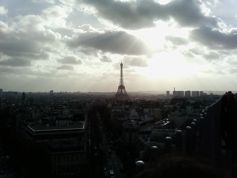 Eiffel Tower by Owen Jones
