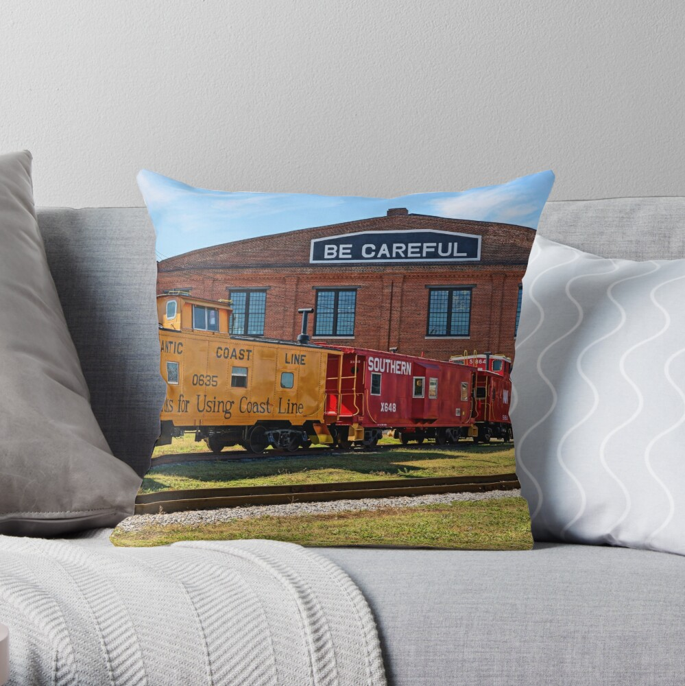 Thanks For Using Coast Line Throw Pillow