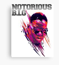 the notorious biggie Canvas Print