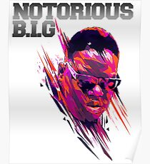 the notorious biggie Poster