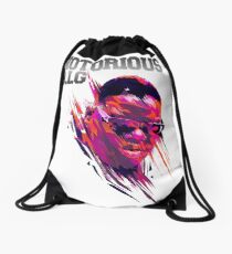 the notorious biggie Drawstring Bag