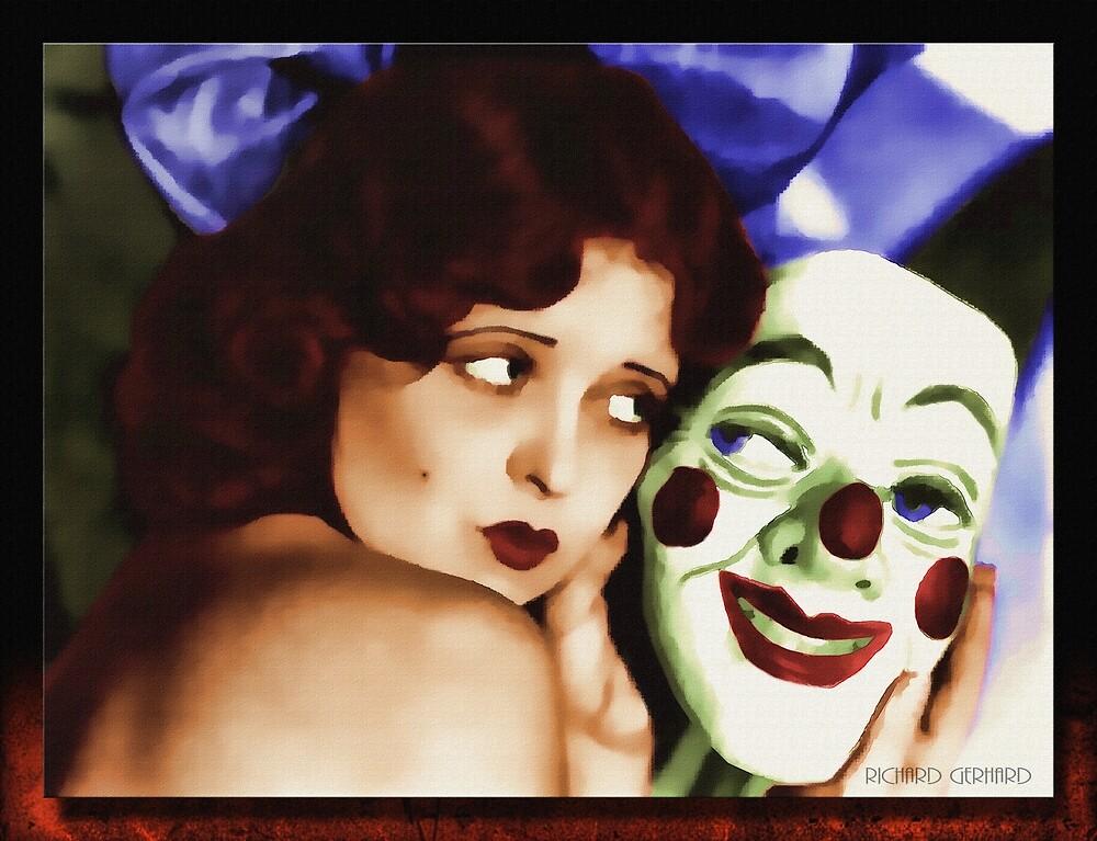 Clara and the Mask by Richard  Gerhard
