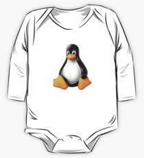 Linux Tux Modern One Piece - Long Sleeve