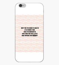Hanssen Zitat iPhone-Hülle & Cover