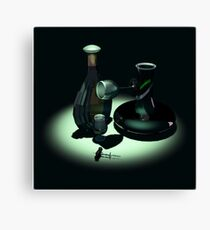 Bottle and Carafe Canvas Print