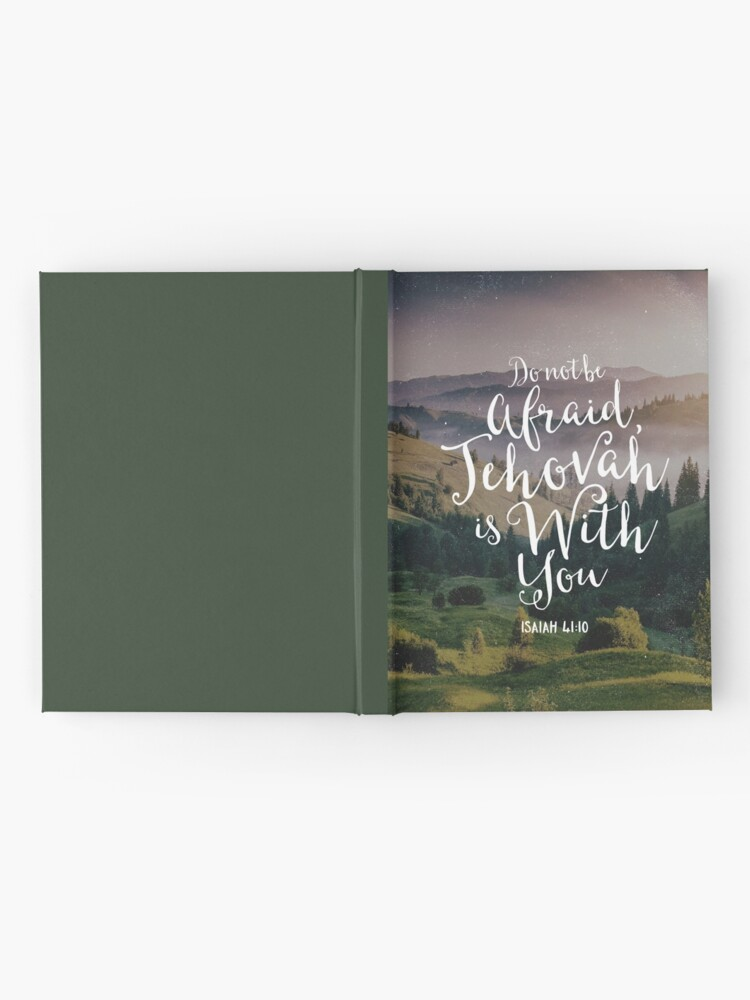 Alternate view of Do Not Be Afraid, Jehovah Is With You Hardcover Journal