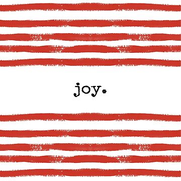 red stripe-joy by SylviaCook
