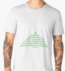 Hollyoaks Characters Christmas Tree Men's Premium T-Shirt