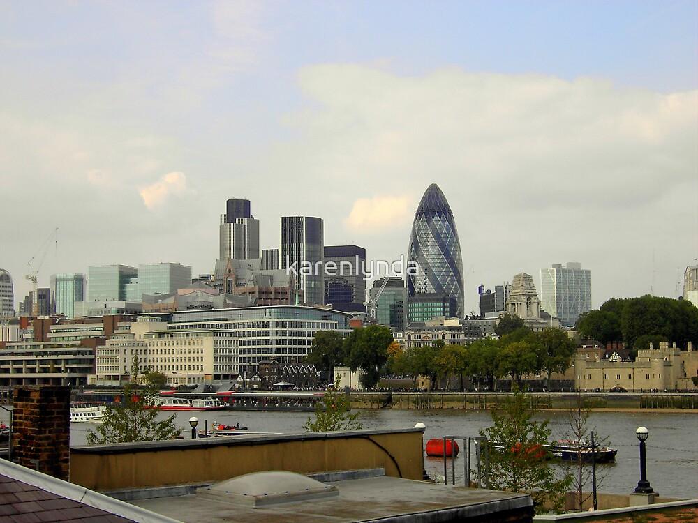 London Skyline 2 by karenlynda