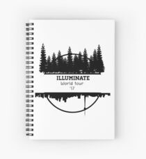 Illuminate World tour  Spiral Notebook