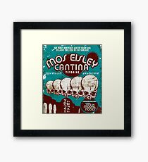 Cantina Sign Framed Print