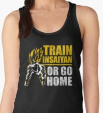 Insaiyan gym power energy fit muscle  Women's Tank Top