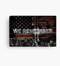 we remember  Canvas Print