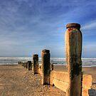 On Tywyn beach by Jon Baxter