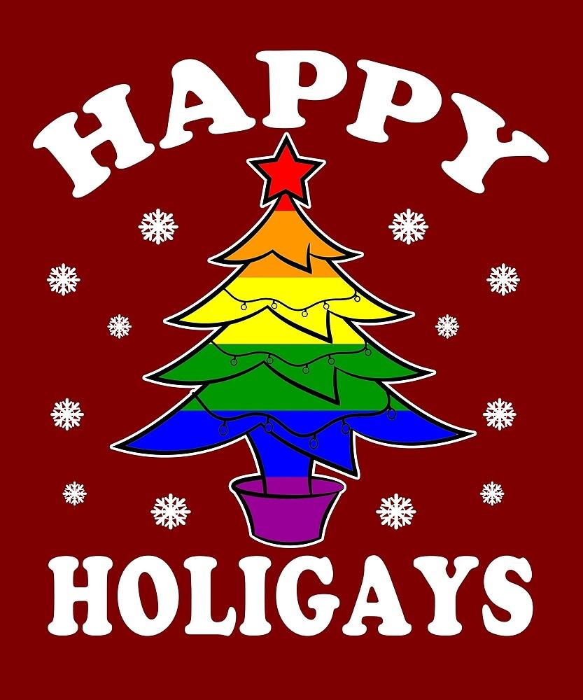 lgbt gay pride happy holigays happy holidays by dolceindigo - Gay Pride Christmas Decorations