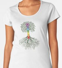 Kundalini Yoga Shirt - Sat Nam T Shirt - Kundalini Chakra Shirt Women's Premium T-Shirt
