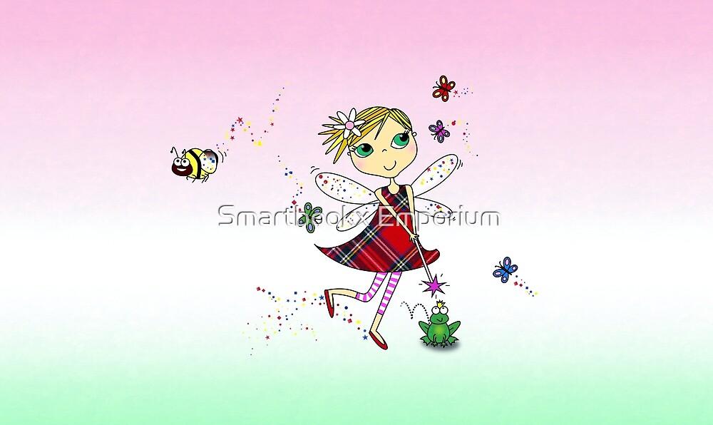 Cute Fairy Cartoon - Little Girls Dream by Smartbookx Emporium
