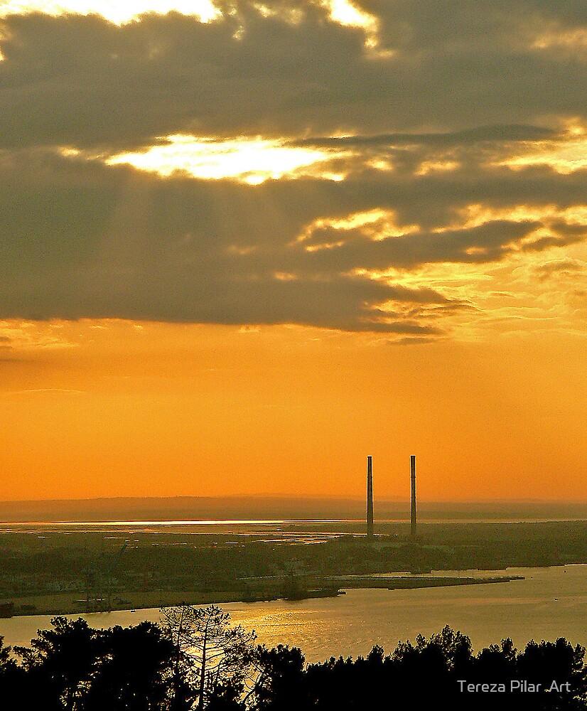 sunrise at sado river by terezadelpilar ~ art & architecture