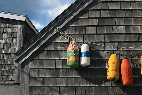 Hanging Buoys  by John  Goodman