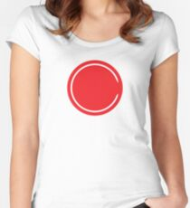 Riverdale - Red Circle Women's Fitted Scoop T-Shirt