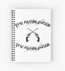 the gunslinger Spiral Notebook