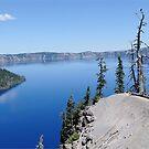 Crater Lake Oregon USA Scenic Panorama by John Kelly Photography (UK)