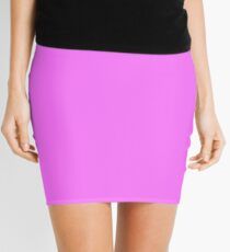 Fuchsia Pink  Mini Skirt