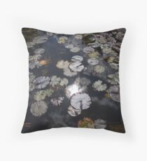 'Lily O Lily, My Lady of the Lake' Throw Pillow
