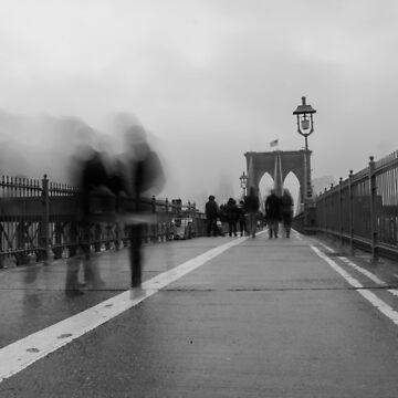 Puente de Brooklyn borroso de ShootFirstNYC