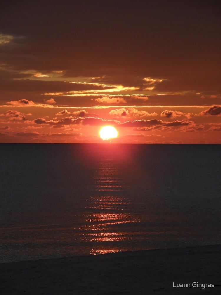 Sunset #2 by Luann Gingras
