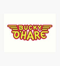 Captain Bucky O'Hare Art Print