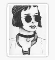 Mathilda From Leon The Professional Sticker
