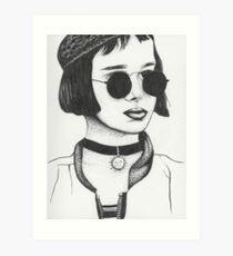 Mathilda From Leon The Professional Art Print