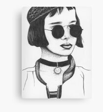 Mathilda From Leon The Professional Canvas Print