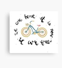We Are Free Canvas Print