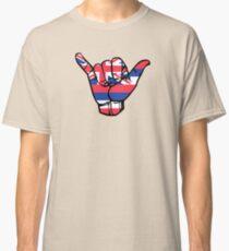 Shaka Hawaii Flag Classic T-Shirt