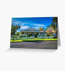 Queenslander style of home Greeting Card
