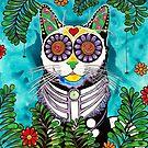 Fern Cat by RobiniArt