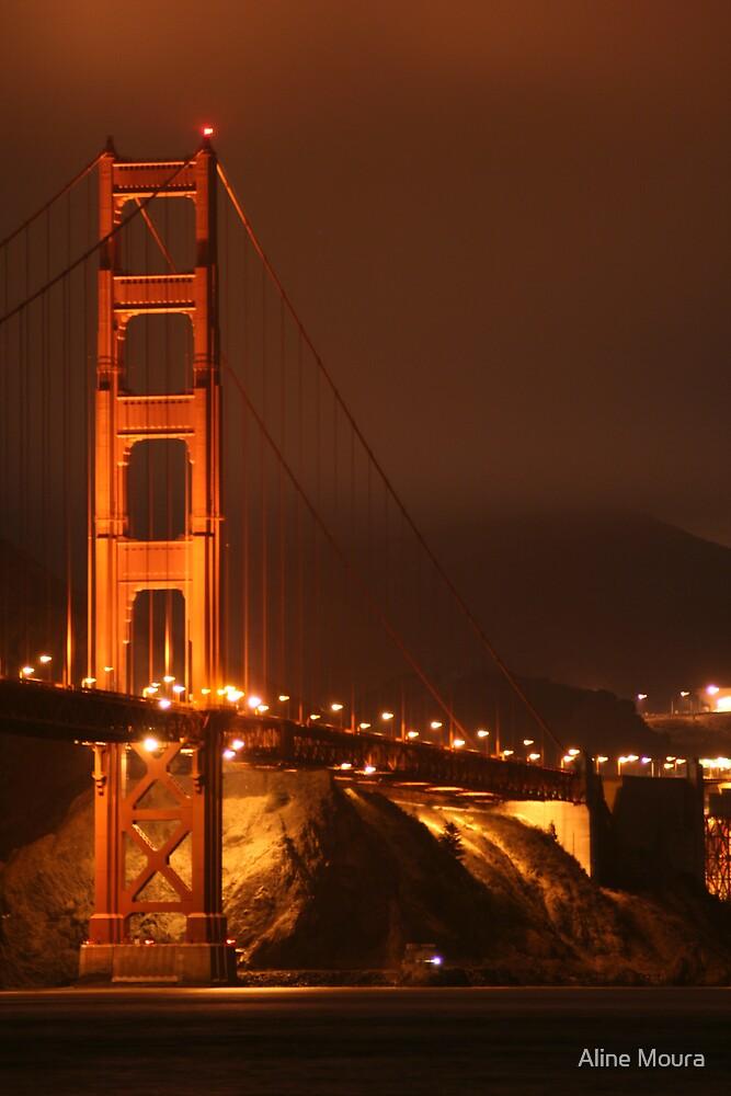Golden Gate Bridge by Aline Moura