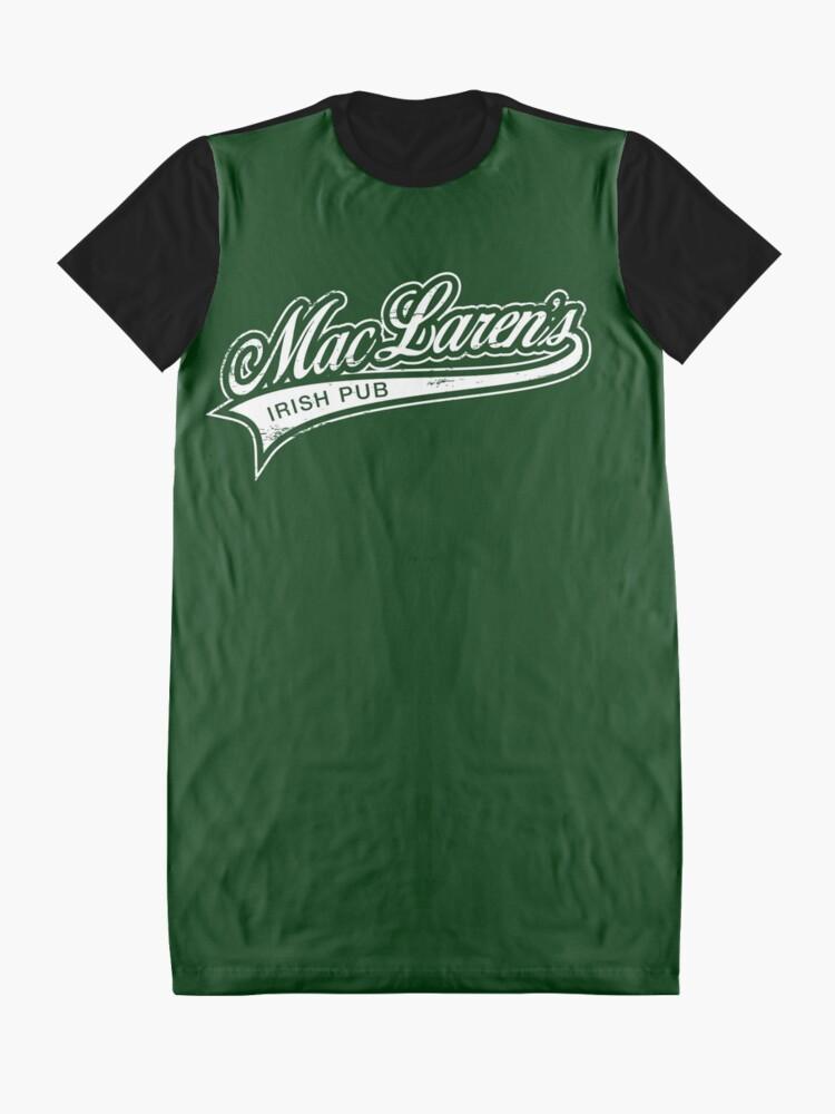 Alternative Ansicht von MacLaren's Pub T-Shirt Kleid