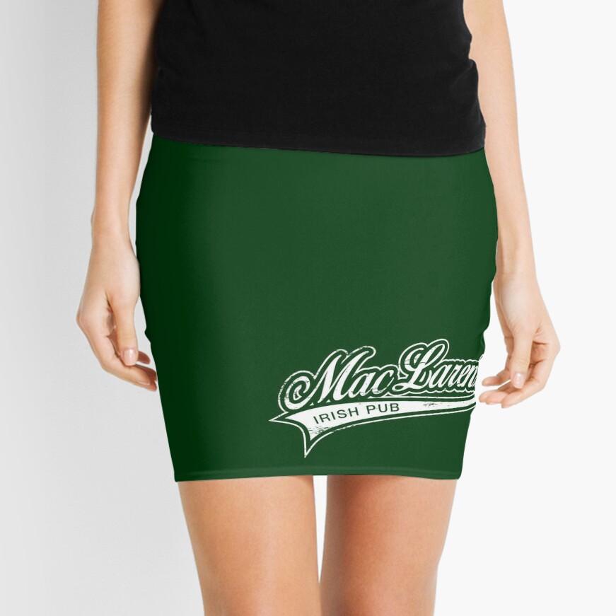 MacLaren's Pub Mini Skirt