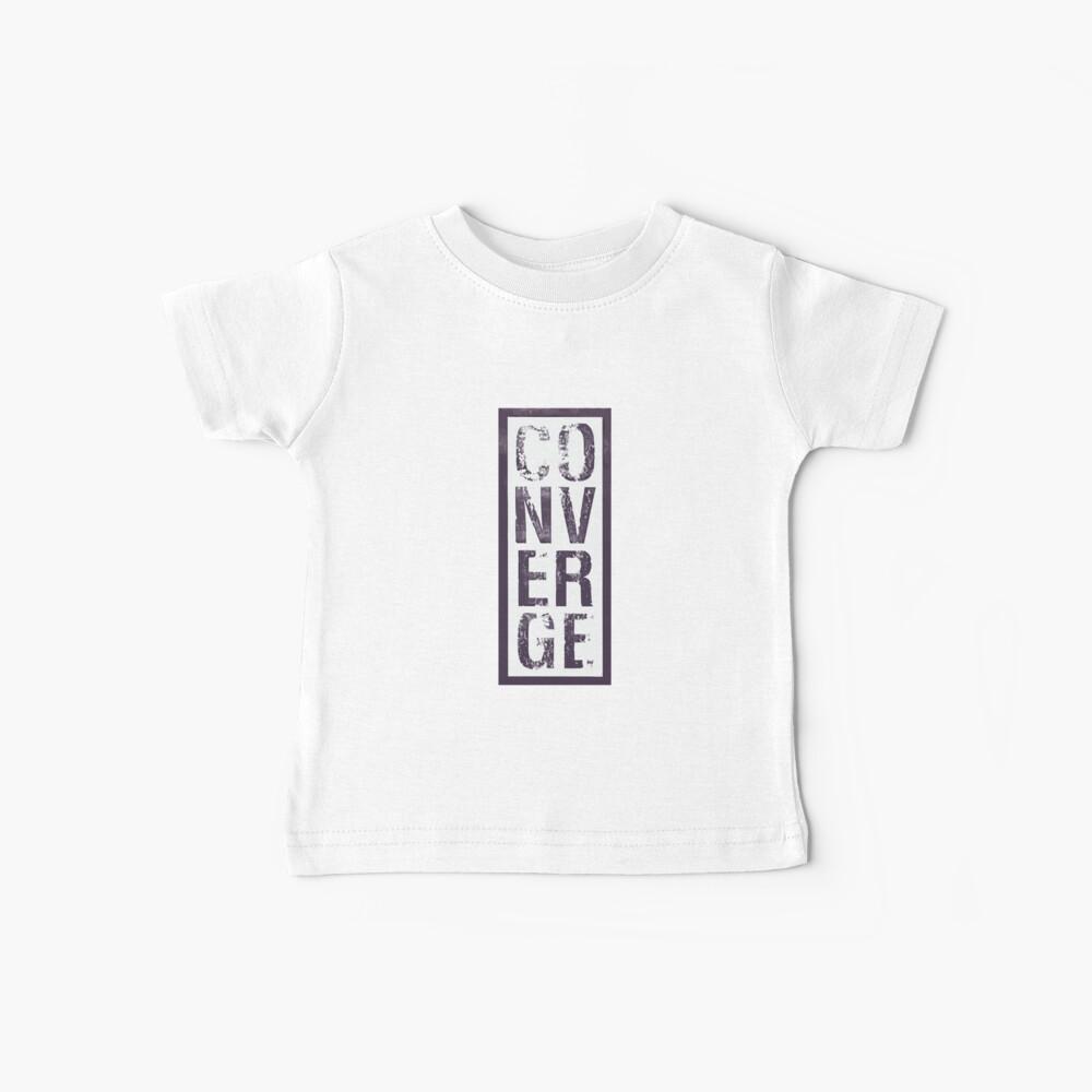 Converge Vertical Camiseta para bebés
